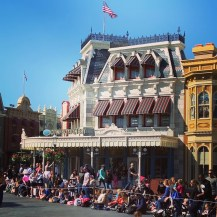 Main Street right before the parade!