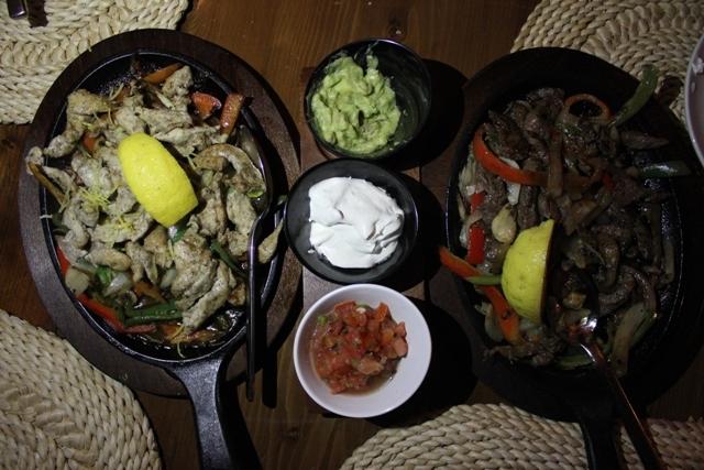 Garcia's Dbayeh Mexican Restaurant Fajitas