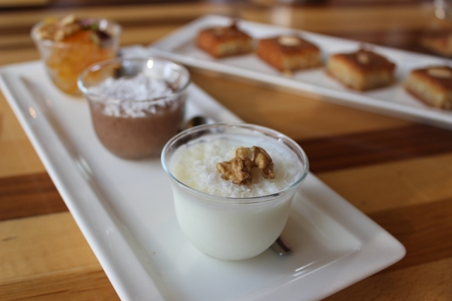 Maison M Lebanese Dessert