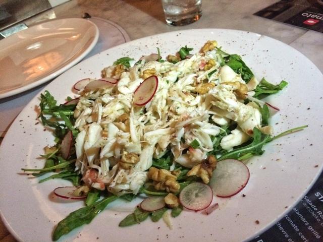 Prune King Crab Salad