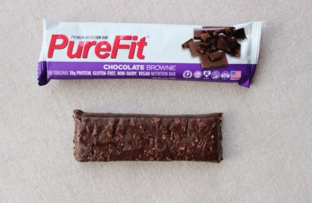 PureFit Bar Unwrapped Review - Chocolate brownie