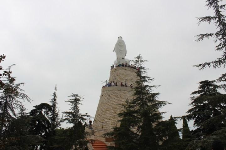 Harissa Lebanon Statue