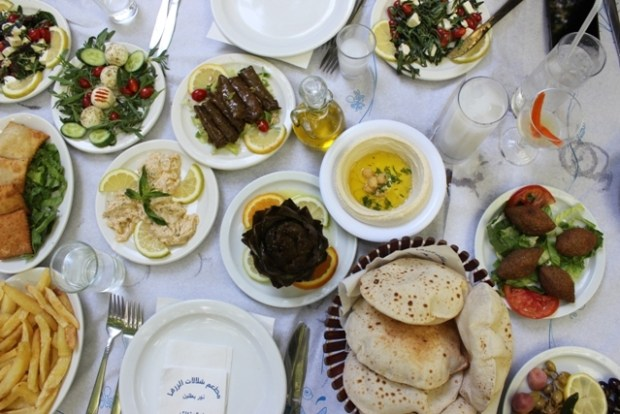 Mediterranean Mezza Shallalat El Zarka