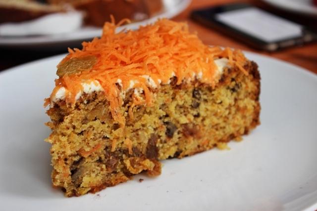 Gordon's Cafe carrot cake