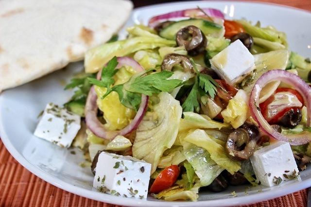 Gordon's Cafe Greek Feta Salad