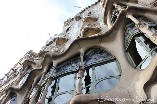 Barcelona Casa Batllo Exterior