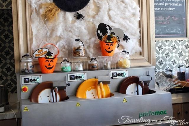 Elsa Chocolatier Halloween Chocolate Bar