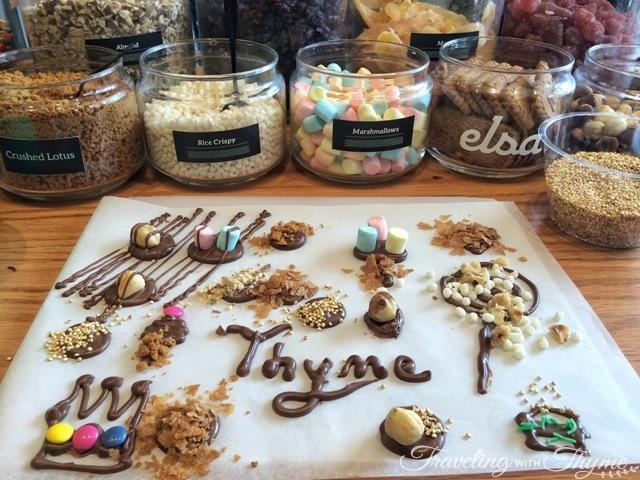 Chocolates at Elsa Chocolatier