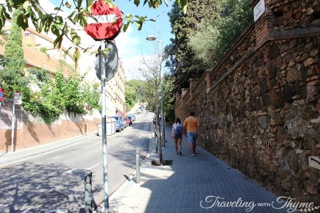 Barcelona Bus Turistic Tour Parc Guell Route