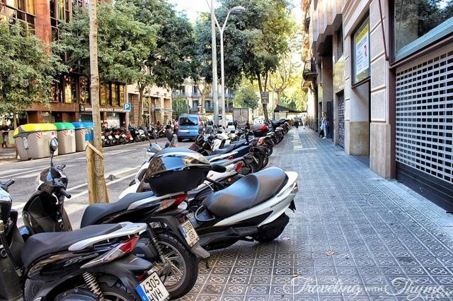 Experiencing Barcelona on Foot Bikes