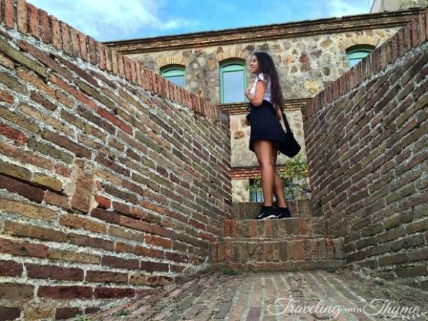 Barcelona Montjuic Castle Grounds