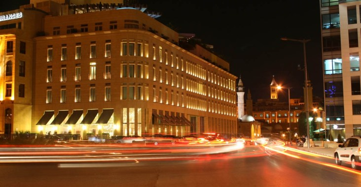 Le Gray Hotel Beirut Exterior