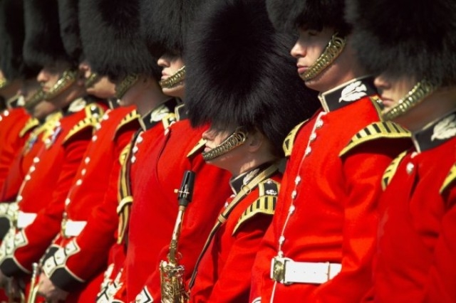Visit Britain Changing of Guard