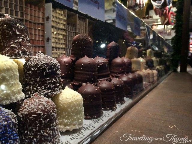 Edinburgh Christmas Market Chocolate
