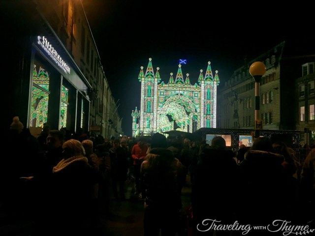 Edinburgh Street of Light Christmas