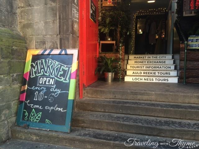 Edinburgh Marker