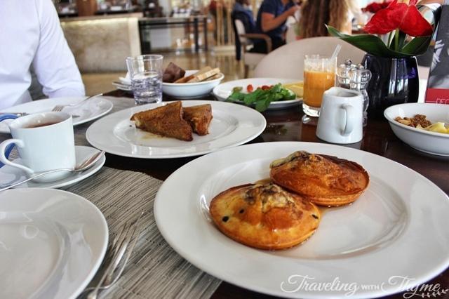 Le Gray Hotel Breakfast Buffet