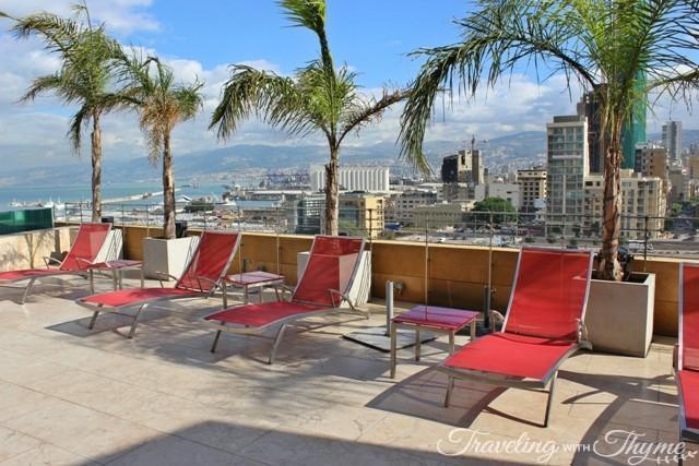 Le Gray Hotel Rooftop Pool Chairs