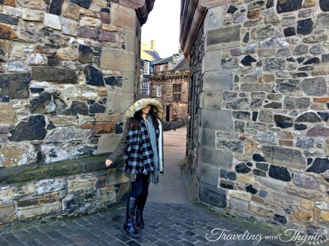 Dancing in Edinburgh Castle