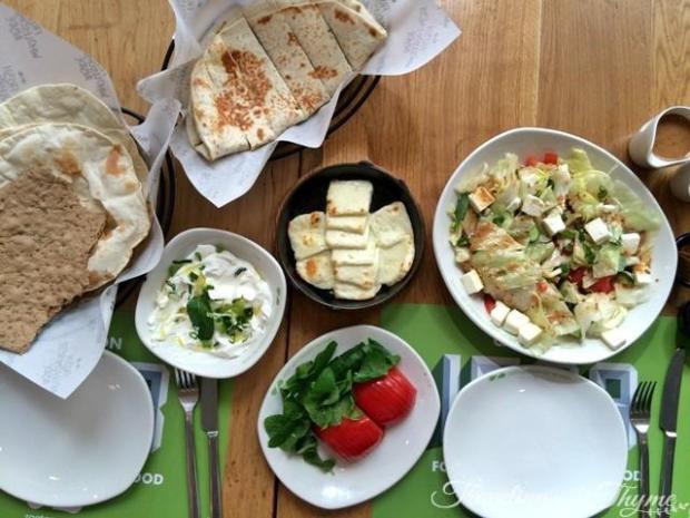 Zaatar w Zeit Breakfast