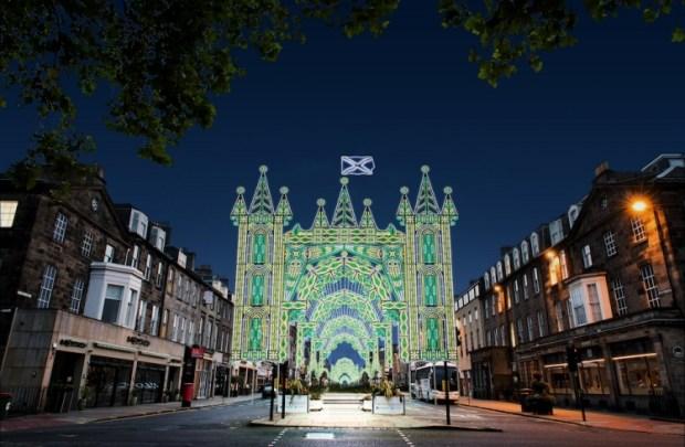 Street of Light Edinburgh Christmas