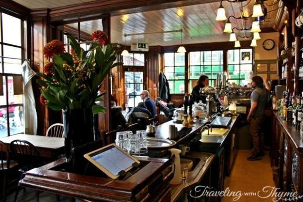 The English Restaurant London Heritage