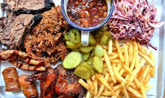 Longhorns BBQ Smokehouse Newcastle Meat Board