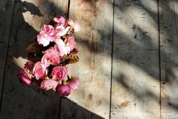 Pink Flowers Art Modern Contemporary Pink