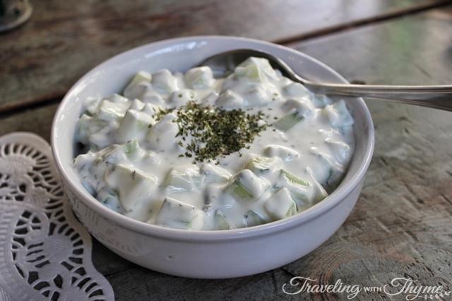 Seza Armenian Yogurt Tzadziki Beirut