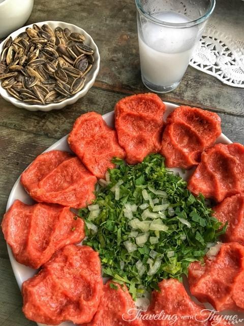 Seza Raw Meat Mezza Beirut Lebanon