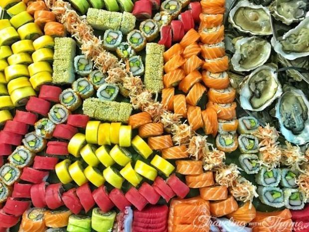 Sushi Four Seasons Hotel Beirut