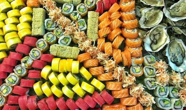 Sushi Four Seasons Hotel Beirut