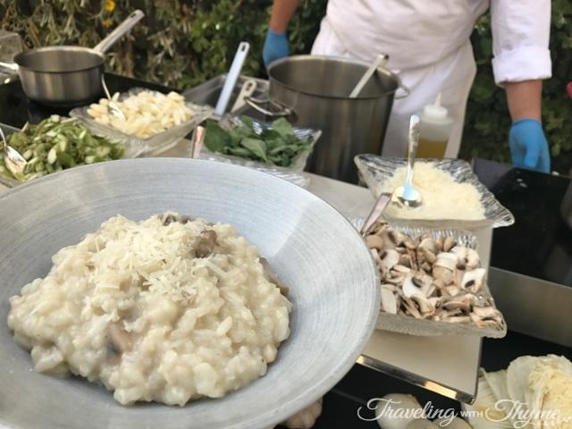 Kempinski Hotel Sunday Brunch Risotto