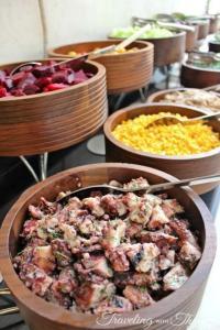 Kempinski Hotel Sunday Brunch Salad Bar