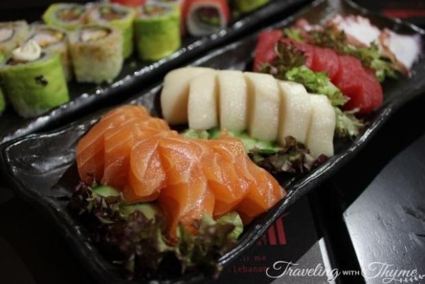 Tamashii Sushi Antelias Lebanon Sashimi