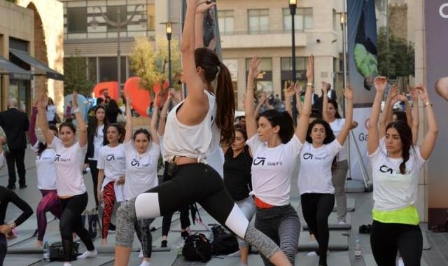 GapFit Beirut Souks Lebanon Yoga