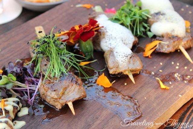 Steak Bar Sushi Meat BBQ