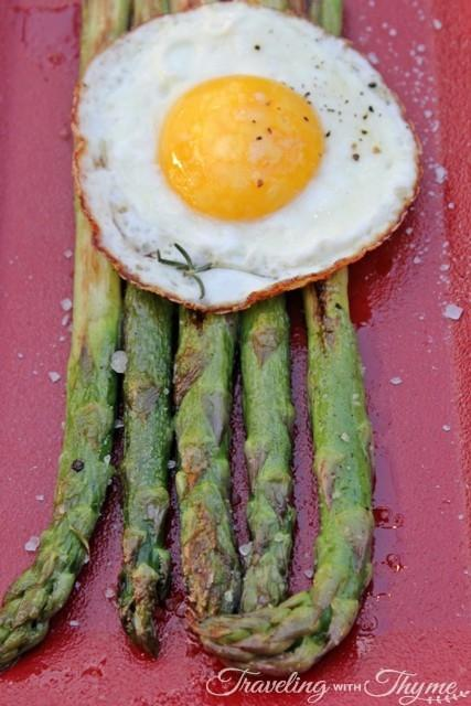 Steak Bar Sushi Lebanon Egg Asparagus