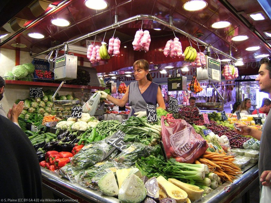 La Boqueria Produce Veggies Fruit