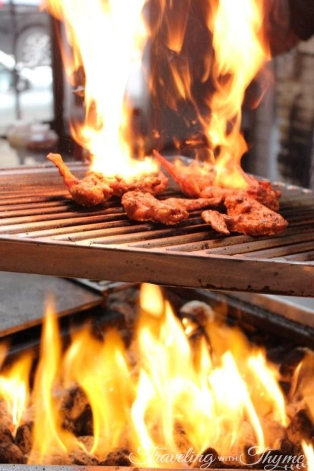 Meats and Bread Beirut Wings BBQ