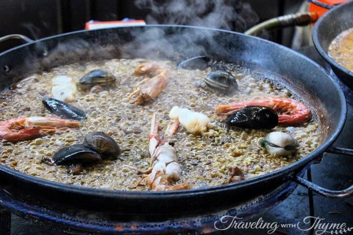 Things to do in Barcelona Paella