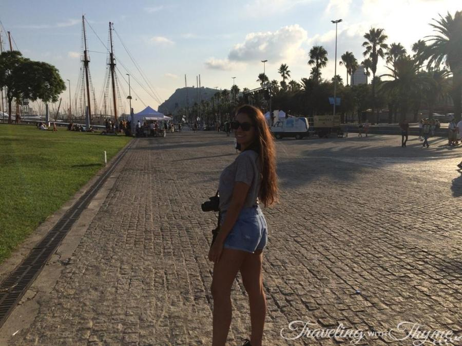 Port Vell Barcelona Marina Tourism