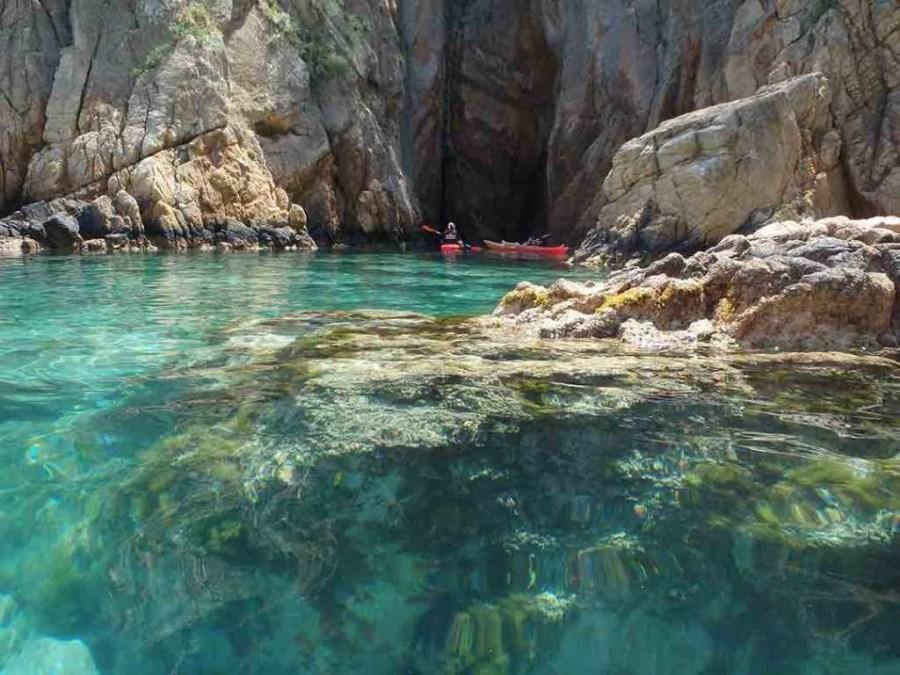 Costa Brava Kayaking Cave Barcelona Excursions