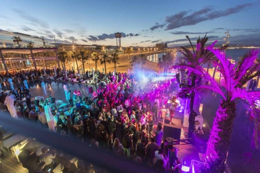 Barcelona Parties Nightlife Beach