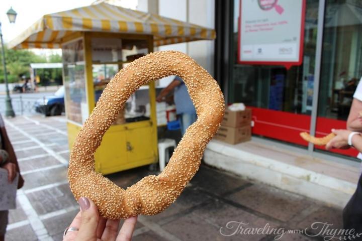 Athens Food Tour Koulouri Greek Food