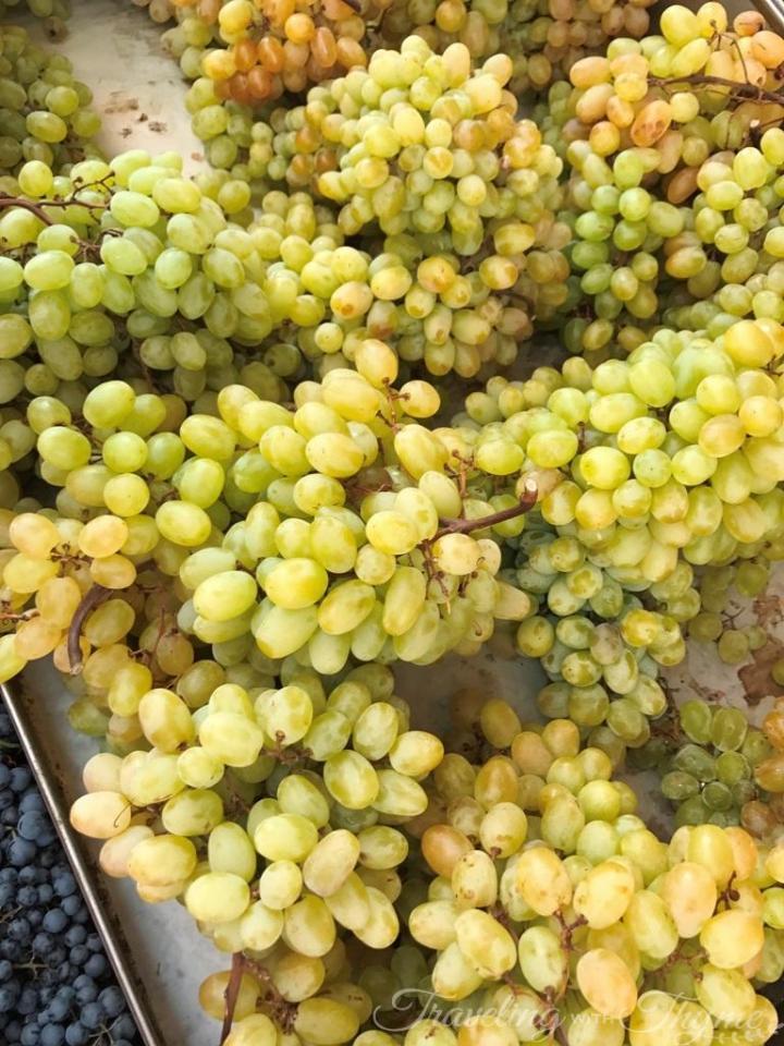 Athens Food Tour Fruit Grapes Market