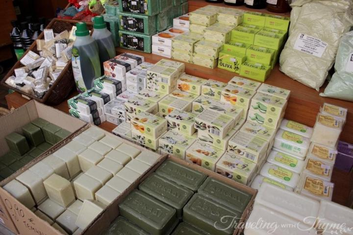 Athens Fotsi Herbs Olive Oil Soap