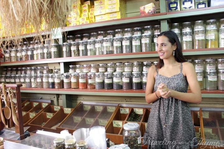 Athens Food Tour Fotsi Herbs Greek