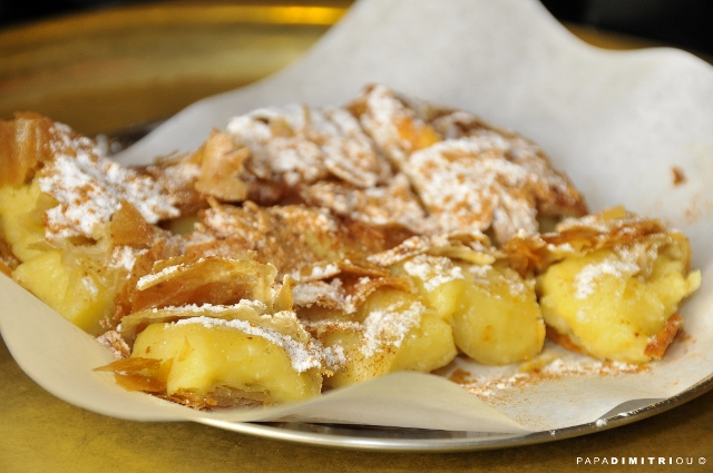 Athens Food Tour Custard Pie Bougatsa