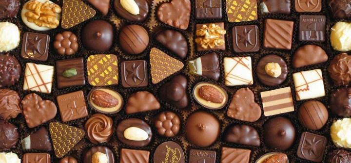 Swiss chocolate Switzerland box